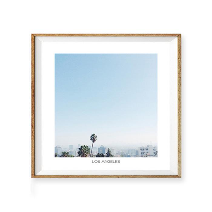 画像1: LOS ANGELES (ロサンゼルス)フォトグラフィー アートおしゃれポスター (1)