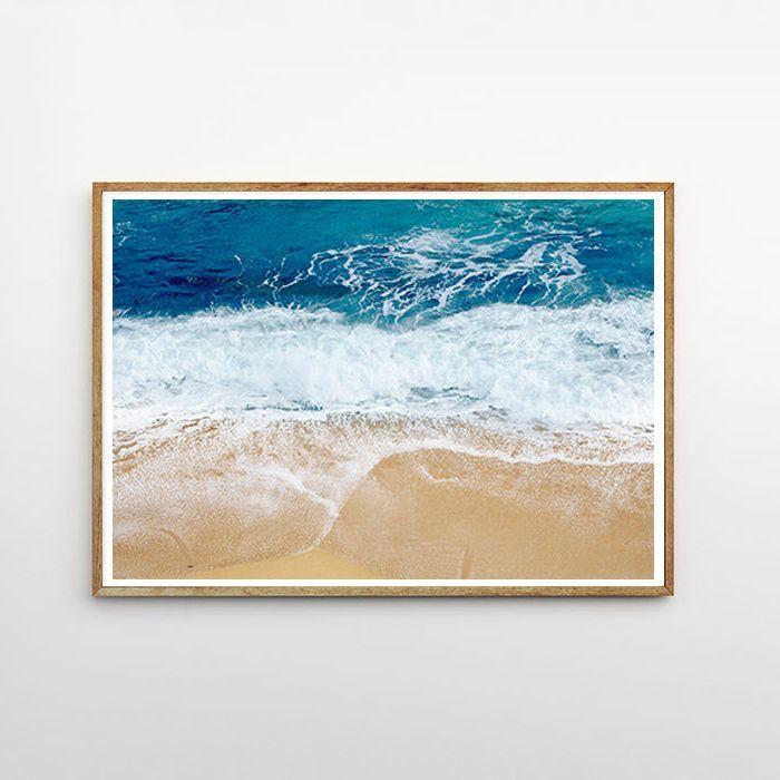 画像1: Sea Surface オーシャン アート ポスター (1)