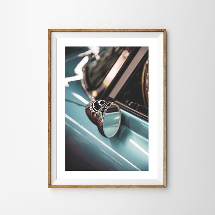 画像1: CLASSIC CAR クラッシック ポスター (1)