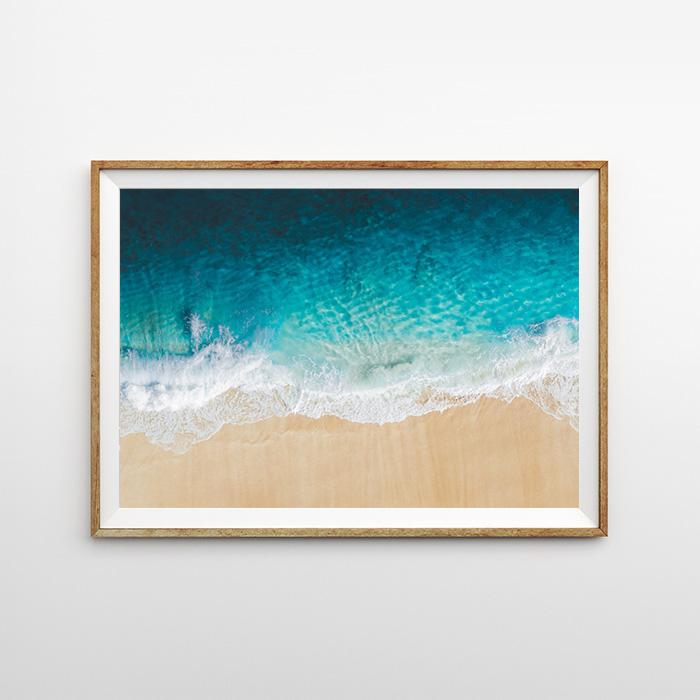 画像1: OVER OCEAN WAVES ポスター (1)