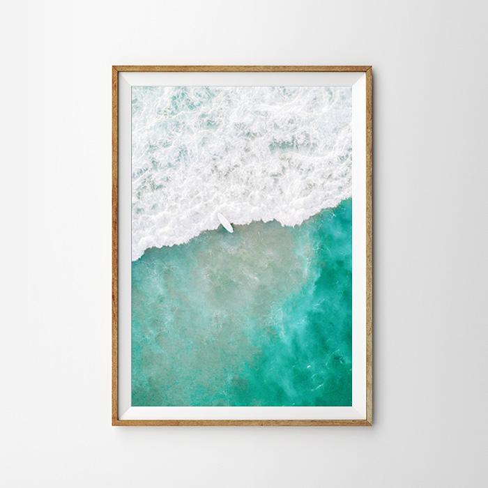 画像1: PASIFICO OVER OCEAN オーシャンポスター (1)