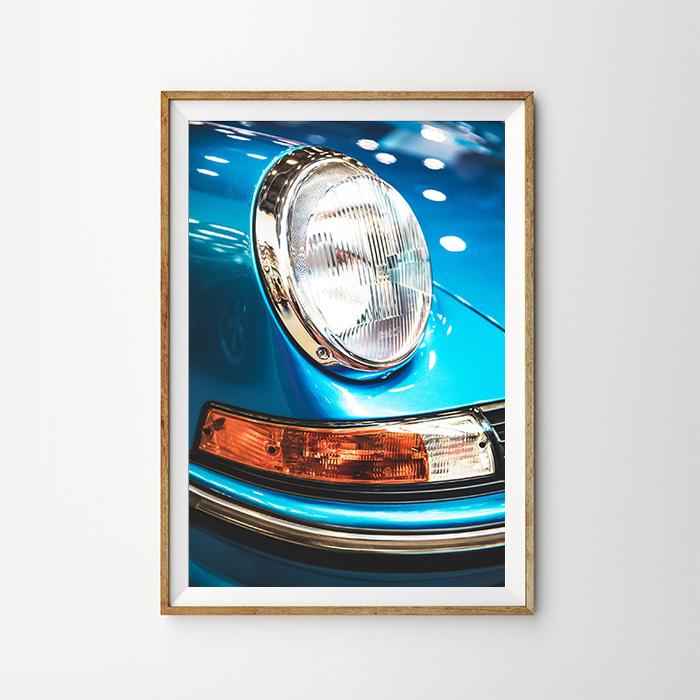 画像1: Porsche Stylish ポルシェ ポスター (1)