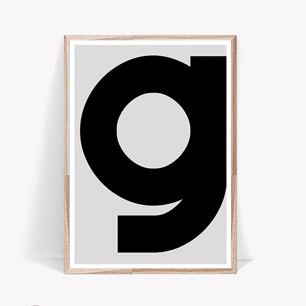画像1: PLAYTYPE プレイタイプ 『g』 ポスター (1)