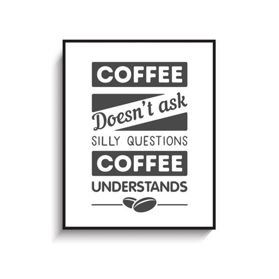 画像1: CAFE Coffee コーヒー カフェ おしゃれ ポスター (1)