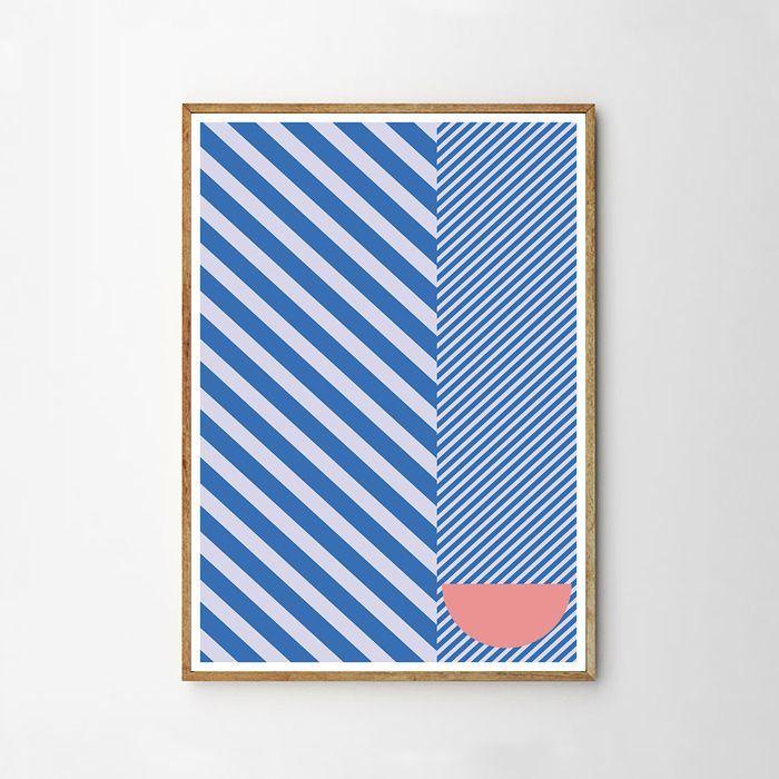 画像1: Diagonal Line ポスター (1)