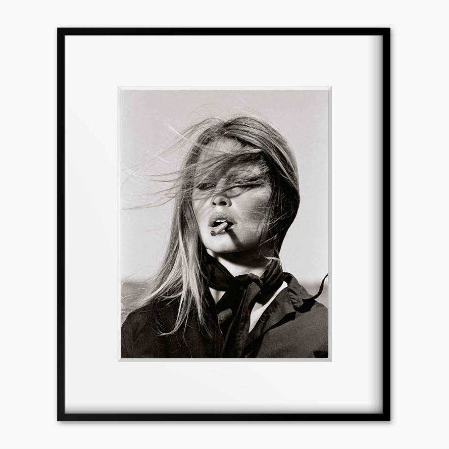 画像1: Brigitte Bardot(ブリジット バルドー) SMORKING Vintage  ポスター (1)