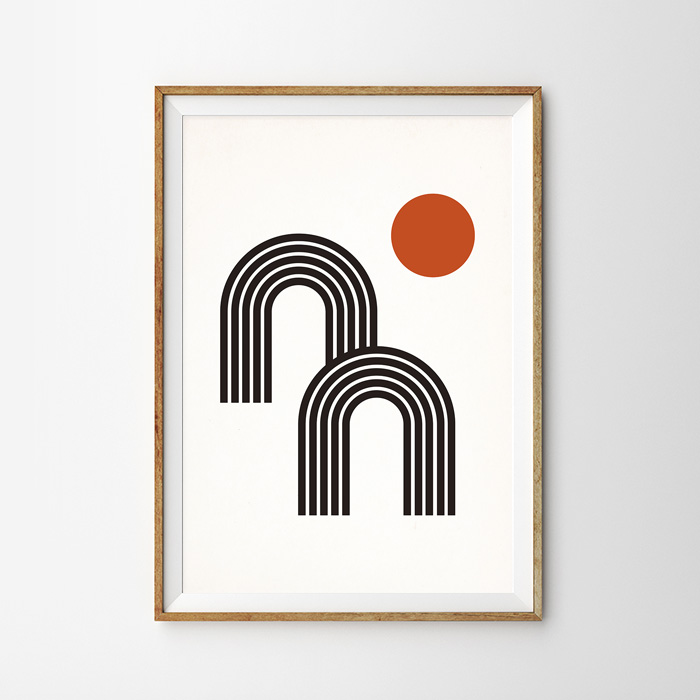 画像1: MOUNTAIN & SUN ポスター (1)