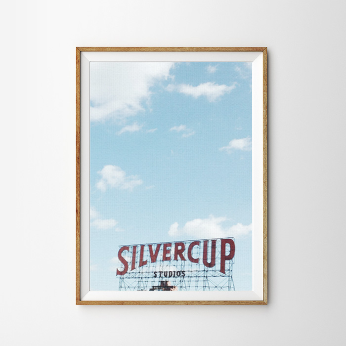 画像1: SILVERCUP サイン in NYC ポスター (1)