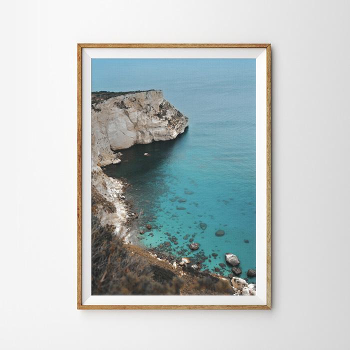 画像1: Rock Edge 大自然の恵み 波 Wave ポスター (1)