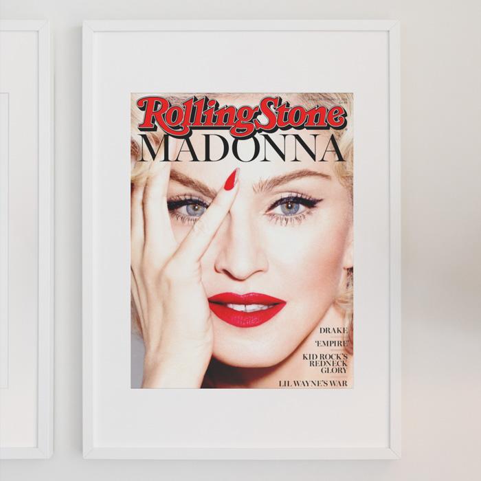 画像1: MADONNA マドンナ  Rolling Stones Magazine Cover (1)