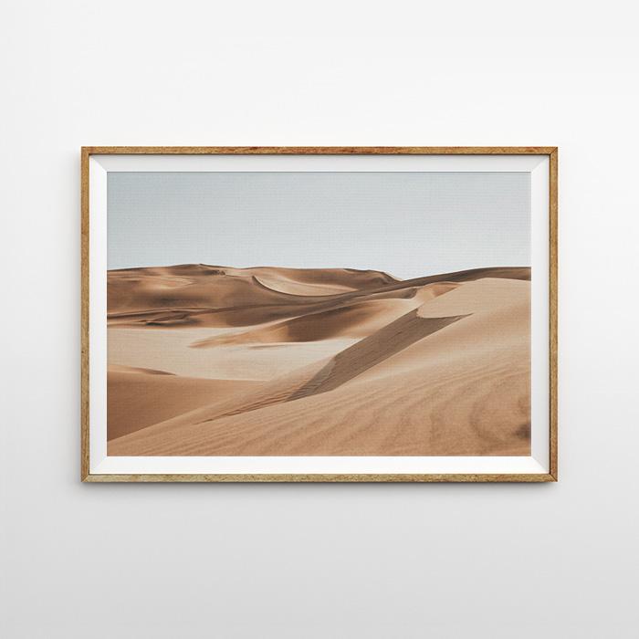 画像1: サハラ砂漠 ポスター (1)